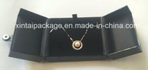 Elegant Double Doors Crocodile Leatherre Jewelry Box with Button pictures & photos