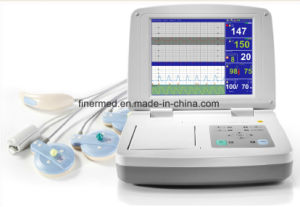 Jpd-300p Twin Ctg Maternal Fetal Monitor pictures & photos