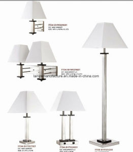 SAA Ce Saso UL cUL Hotel Lamp Set Brush Nickel with USB Power Outlet pictures & photos