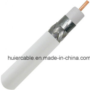 Cheap Price Hot Sale 75 Ohm Foam PE Coaxial Cable RG6 pictures & photos