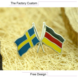 High Quality Metal Flag Pin of The Lacquer That Bake pictures & photos
