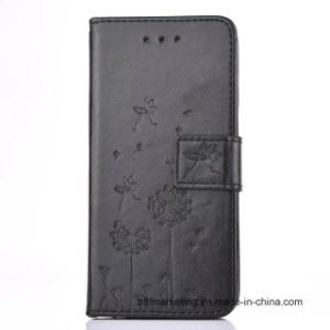 Embossed PU Leather Wallet Mobile Cell Phone Case for Samsung S7/S7 Edge etc pictures & photos