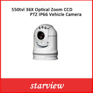 550tvl 36X Optical Zoom CCD PTZ IP66 Vehicle Camera pictures & photos