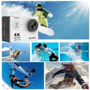 Ultra HD 4k Waterproof WiFi Sport Camera 1080P DV pictures & photos