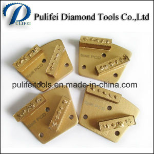 Split PCD Segmented Grinding Pad for Concrete Floor pictures & photos