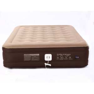 Standard Series Essential Rest Queen Size Inflatable Air Mattress with Built-in Electric Pump pictures & photos