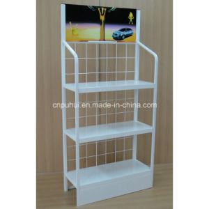 3 Tier Metal Floor Display Rack (PHY394) pictures & photos