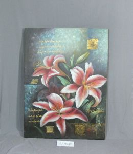 Night Lily Pattern of Home Canvas Hanging Painting