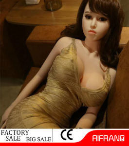 158cm Heated Real Feeling Silicone Sex Doll for Man Sex Toy with Ce RoHS pictures & photos