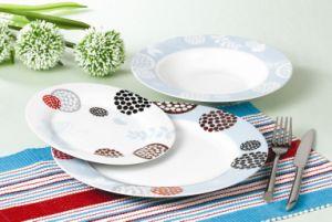 Round Porcelain Dinner Plate Wholesale Ceramic Dinner Plate Restaurant, Hotel Dinner Plate pictures & photos