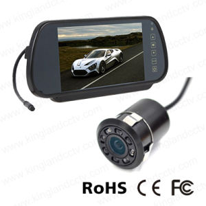 7inch Reversing Mirror Monitor with Mini Rear View Bumper Camera