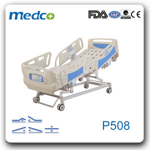5-Function ICU High Dependency Electric Hospital Bed pictures & photos