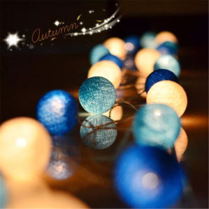 Catton Ball House Decoration Christmas Ornament LED Lighti pictures & photos