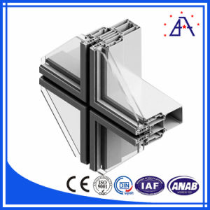 Aluminum Profile for Building Curtain Wall Framework pictures & photos