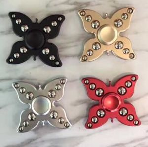 2017 New High Fashionable Aluminium Alloy Hand Spinner Hot Sell Finger Spinner pictures & photos