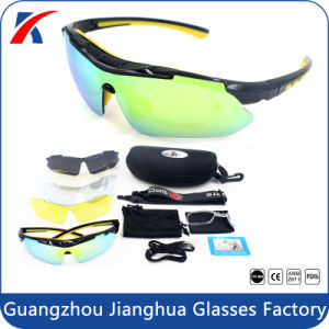 Cool Black Frame Anti Strong Glare Polarized Outdoor Sports Sunglasses Wholesale pictures & photos