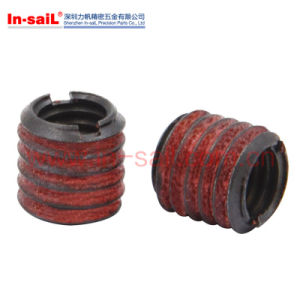 E-Zlok Corrosion-Resistant Thread-Locking Slotted Inserts for Metals pictures & photos