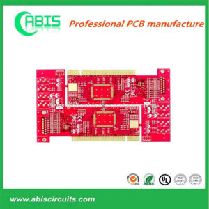 Red Solder Mask Circuits Board 2 Layer PCB 2.0mm (24H-48H QUICK TURN) pictures & photos