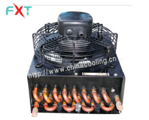 Aluminum Fin Copper Coil Condenser with Cover pictures & photos