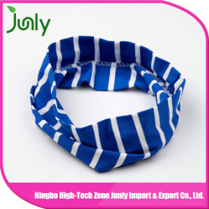 Fashion Hair Accessories Girls Sport Broad Elastic Headband pictures & photos