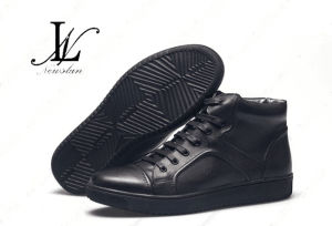 High Quality Winter Leather Shoes (CAS-054) pictures & photos