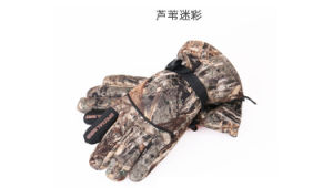 Anti-Stabmilitary Multicamo Water-Proof Wild Traning Multicamo Camouflage Tactical Outdoor Bionic Full-Half Finger Sports Travelling Leather Glove pictures & photos