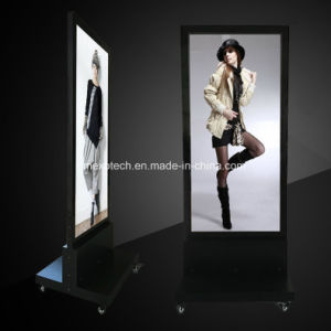Free Standing LED Light Box with Aluminum Frame and Magnetic Open pictures & photos