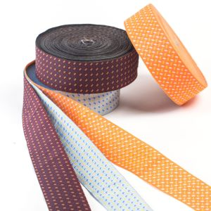 The Dots Smooth Printed Ribbon for Bags and Garments pictures & photos