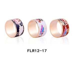 Fashion Women Jewelry Stainless Steel Enamel Ring pictures & photos