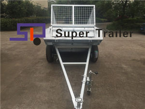 6X4/7X4/7X5/8X5FT Quality Welded Galvanized Tilt/Tipping Trailer