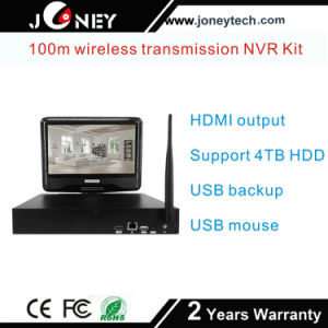 Wholesale Network Video Recorders 4 Channel CCTV IP Camera NVR Kit WiFi Wireless Camera pictures & photos