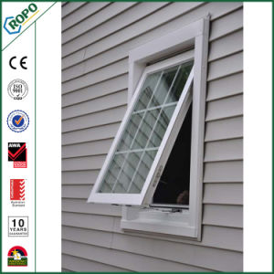 Plastic Profile Replacement Energy Efficient Awning Window with Grill Inside pictures & photos