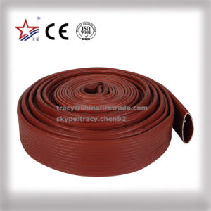 Red Duraline Flexible Fire Hose pictures & photos