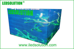 Ledsolution Indoor Outdoor Seamless L Shape Corner LED Display Screen pictures & photos