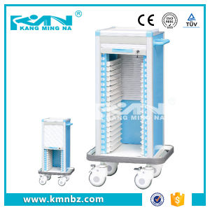 Hospital Case History Trolley with 25 Layers Capacity