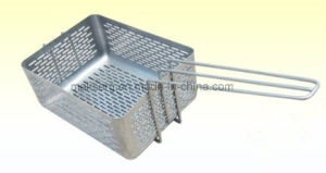 Recyclable Steel Wire Commercial Fry Basket pictures & photos