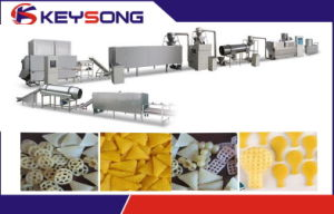 Fried Baked 3D Snack Pellet Processing Machinery pictures & photos