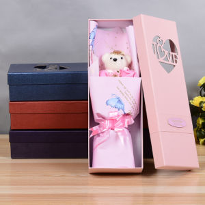 2017 Wholesale Popular Round Cylinder Paper Flower Gift Box for Flower pictures & photos