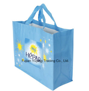 PP Fabric Handle Bag with Customized Printing pictures & photos