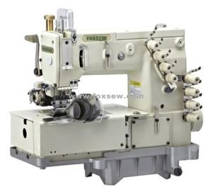 4-Needle Flat-Bed Double Chain-Stitch Machine for Waistband pictures & photos