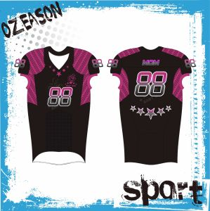 2017 Latest Custom Sublimation Printing American Football Jerseys Design pictures & photos