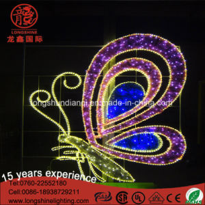 Multicolor Waterproof Wing LED Holiday Motif Road Light for Outdoor Decoration pictures & photos