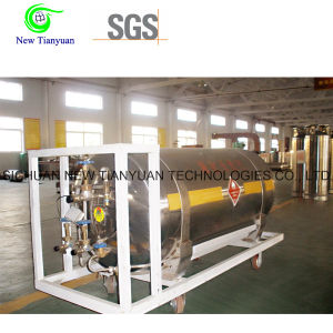 200L Nominal Capacity 500mm Diameter LNG Vehicle Tank Cylinder pictures & photos