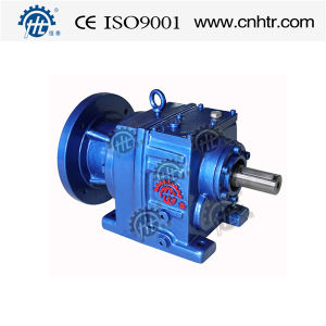 Hr Series Co-Axial Helical Gear Reducer Foot Mounted Crane Gearbox pictures & photos