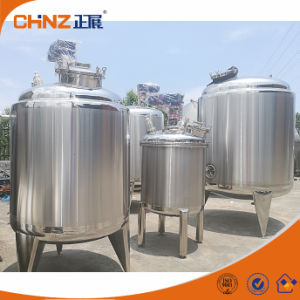 Heated Jacket Acid Chemical Juice Mixing Tank Stainless Steel 304 / 316 pictures & photos