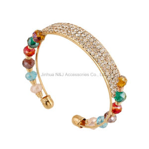 Handmade Gold Crystal Bracelets for Women Girls Best Friends Charm Bracelet Jewelry pictures & photos