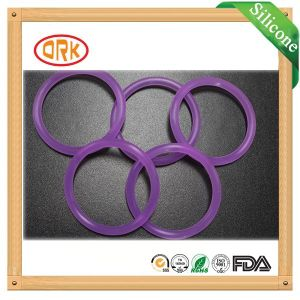 Food Grade Transparent Soft Silicone Rubber O Ring pictures & photos