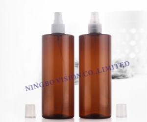 500m White Plastic Pet Liquid Dispenser Bottles with Mist Sprayer pictures & photos