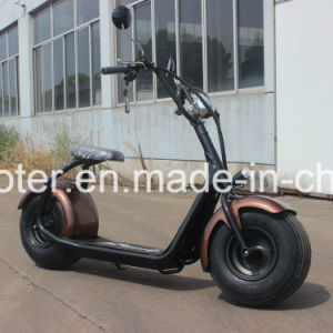 1000W 60V Brushless Electric Scooter 2 Wheels E-Scooter Electric Bike Harley pictures & photos