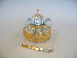 Dome of Rock (Crystal and Gold Model) Medium